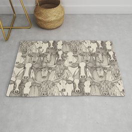 just cattle natural Rug