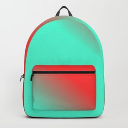Red and Green Gradient / GFTgradient007 Backpack