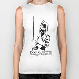 Don Quixote (Don Quijote de la Mancha) Biker Tank