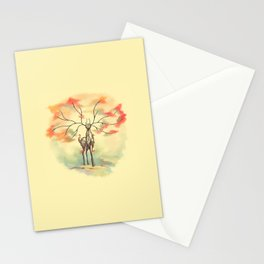 Essence of Nature - A Deer's Echo Stationery Cards
