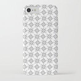 Penny Farthing Monogram iPhone Case