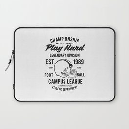 chmpionship play hard Laptop Sleeve