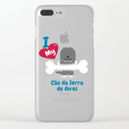 Cao Da Serra De Aires Clear iPhone Case