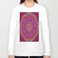 kaleidoscope Long Sleeve T-shirts featuring Kaleidoscope by Zenya Zenyaris