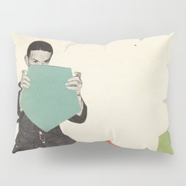 Discovering New Shapes Pillow Sham