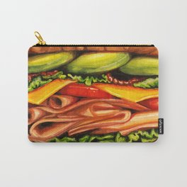 Sandwich- Turkey Bacon Avocado Carry-All Pouch