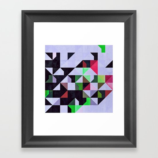 Ybsyssx Framed Art Print