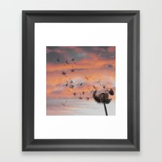 And the days went by Framed Art Print