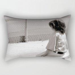 Little Baseball Brother Rectangular Pillow