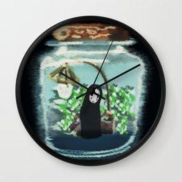Bottled spirit Wall Clock