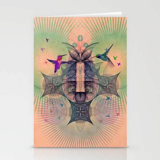 The Hummingbird Dimension Stationery Cards