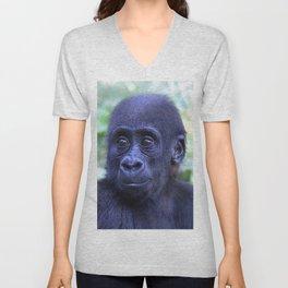 CArt Gorilla Baby Unisex V-Neck
