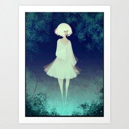Fog Princess Art Print