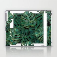 Square Between the Leaves Laptop & iPad Skin