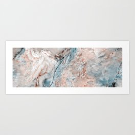 Mint Emperador marble onyx Art Print