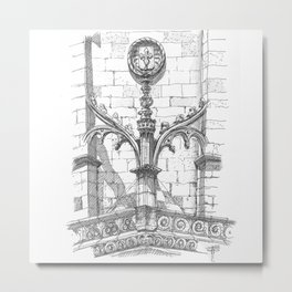 flying buttress Metal Print