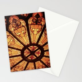 Orpheum Stained Glass Stationery Cards