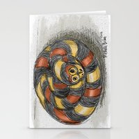 snake Stationery Cards featuring Snake by Michelle Behar