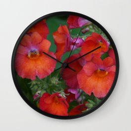 Flower Prowler Wall Clock