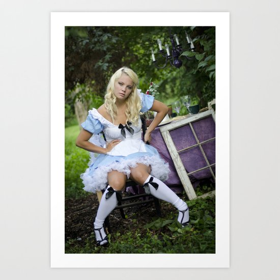 Alice in Wonderland- Alice Art Print
