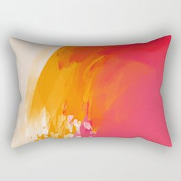 The Bright Abstract Waterfall Rectangular Pillow