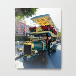 Holiday Omni Bus Metal Print