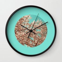 spring tree XVIII Wall Clock