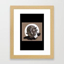 Victorian Profile_3 Framed Art Print