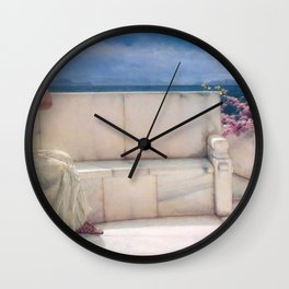 Expectations by Sir Lawrence Alma Tadema | Reproduction Wall Clock