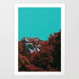 Castelo Art Print