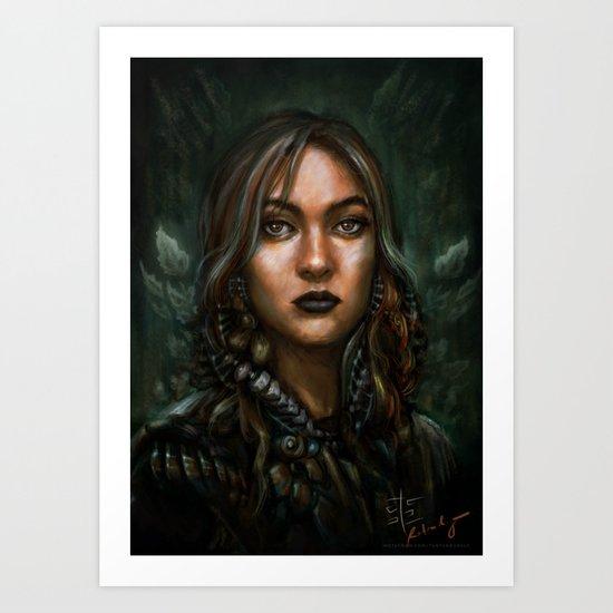 Viktoria Art Print