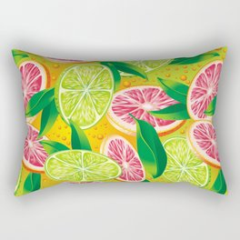 Citrus background Rectangular Pillow
