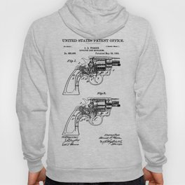 Smith And Wesson Revolver Patent 1894 Hoody