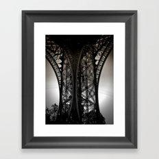 Eiffel Tower Detail Framed Art Print
