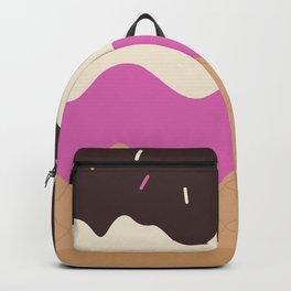 Neapolitan Ice Cream Backpack