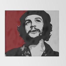 Ernesto Che Guevara smile Throw Blanket