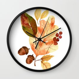 """""""Fall""""ing For You Wall Clock"""