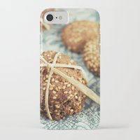 cookies iPhone & iPod Cases featuring Cookies by Leonor Saavedra