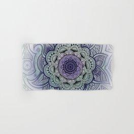 Mandala Violet Hand & Bath Towel