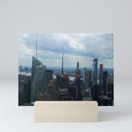 Manhattan City Jungle View Mini Art Print