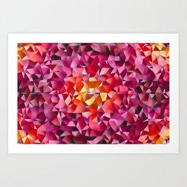 Relax with colors 2 ... Art Print
