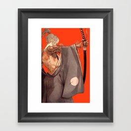 Mantle Framed Art Print