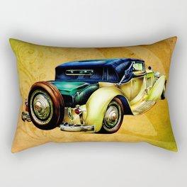 Vintage automobile retro fineart Rectangular Pillow