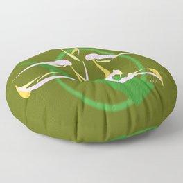 Jumpin', Pt. 2 (Green) Floor Pillow