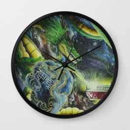 space of sheron Wall Clock