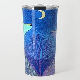 Us And The Moon Travel Mug