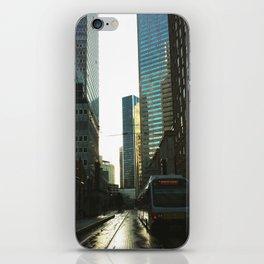 Downtown Rain iPhone Skin