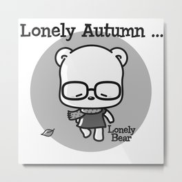 Lonely Autumn Metal Print