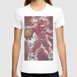 basketball player art 6 T-shirt