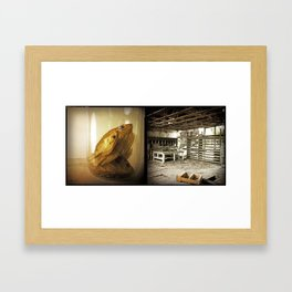 Fish:Liquor Store Framed Art Print